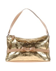 Braccialini Tua By Handbags Gold