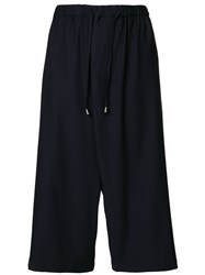Unconditional Cross Front Culottes Blue