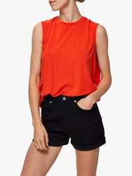 Selected Femme Asha Top Cherry Tomato