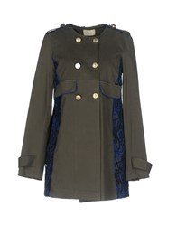 Toy G. Overcoats Military Green