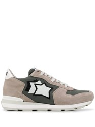 Atlantic Stars Side Star Sneakers Grey