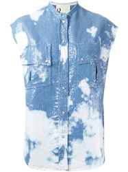 8Pm Sequin Shirt Blue