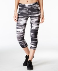Ideology Printed Cropped Leggings Only At Macy's Break Limits