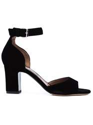 Tabitha Simmons Ankle Strap Sandals Black