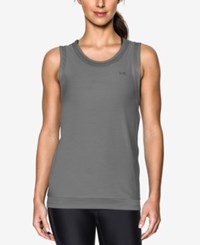 Under Armour Sport Heathered Muscle Tank Top Graphite
