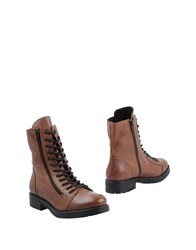 Mally Ankle Boots Brown