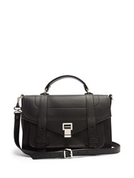 Proenza Schouler Ps1 Medium Leather Cross Body Bag Black