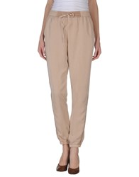 Naf Naf Trousers Casual Trousers Women Beige