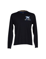 North Sails T Shirts Dark Blue