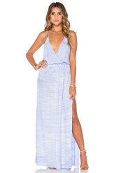 Young Fabulous And Broke Nala Maxi Dress Blue