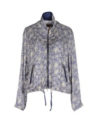 Alviero Martini 1A Classe Coats And Jackets Jackets Women Dark Blue