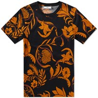 Ami Alexandre Mattiussi All Over Floral Tee Blue