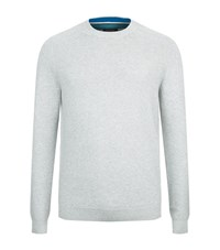 Ted Baker Marlin Textured Jumper Male Grey