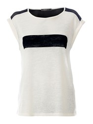 Red Soul Casual Printed T Shirt Off White