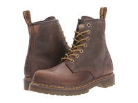 Dr. Martens Work Service 7B10 7 Eye Boot Aztec Crazyhorse Lace Up Boots Brown