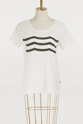 Sol Angeles Waves T Shirt D White
