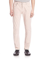 7 For All Mankind The Straight Solid Pants Desert Rose