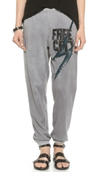 Freecity Bolt Feather Weight Sweatpants Greyglass