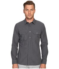 Todd Snyder Utility Shirt Charcoal Men's Clothing Gray