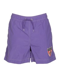 Polo Jeans Company Swim Trunks Purple