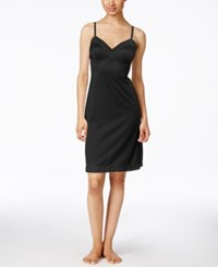 Vanity Fair Daywear Solutions Full Slip Midnight Black