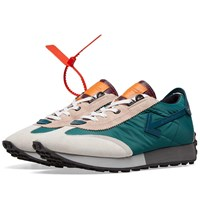 Off White Vintage Arrow Running Sneaker Green