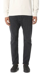Vince Drawstring Drop Crotch Jeans Volcanic Wash