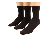 Fox River Pointelle Crew 3 Pair Pack Chestnut Women's Crew Cut Socks Shoes Brown
