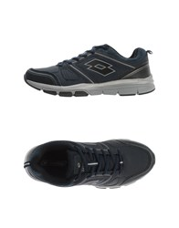 Lotto Footwear Low Tops And Trainers Men Dark Blue