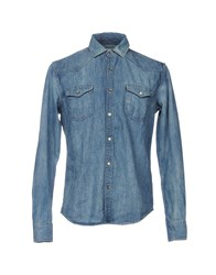 Vintage 55 Denim Shirts Blue