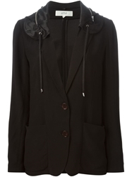 Vanessa Bruno Athe Hooded Blazer Black