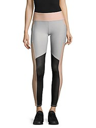 Gottex Fitted Colorblock Leggings Black