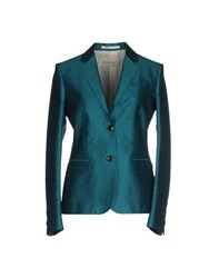 Mauro Grifoni Suits And Jackets Blazers Women Turquoise