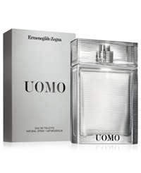 Zegna Uomo Eau De Toilette Spray 1.7 Oz