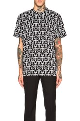Givenchy Cross Print Tee In Black