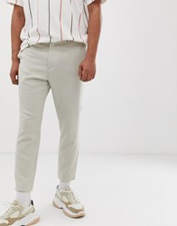 Weekday Arvid Tailored Trousers In Beige