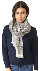 Madewell Guadalupe Jacquard Scarf Aztec