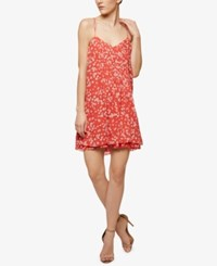 Sanctuary Reese Embroidered Slip Dress Petite Tiger Lily Print