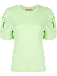 Maggie Marilyn Knot On T Shirt Green