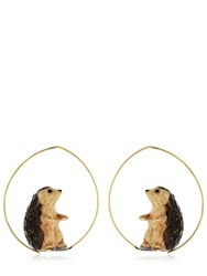 Nach Hedgehog Earrings