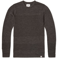 Norse Projects Bubble Crew Knit Charcoal