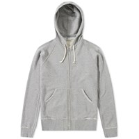 Nonnative Dweller Zip Hoody Grey