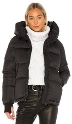 Soia And Kyo Sylvana Puffer In Black.