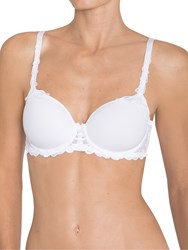Triumph Modern Finesse Padded Underwired T Shirt Bra White