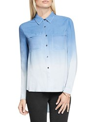 Vince Camuto Dip Dye Collared Tunic