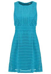 Warehouse Cocktail Dress Party Dress Teal Turquoise