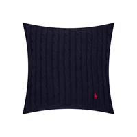 Ralph Lauren Home Cable Cushion Cover 45X45cm Navy