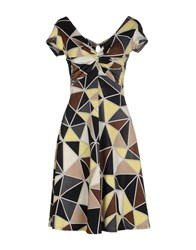 Giorgia And Johns Giorgia And Johns Dresses Short Dresses Women Yellow