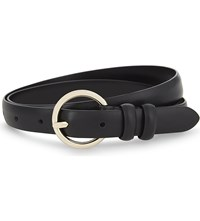Sandro Alena Leather Belt Black