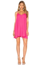 Lucca Couture Tank Dress Pink
